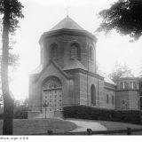 Antonin - kaplica 1918-39  Fotografja Słońce, Ostrów